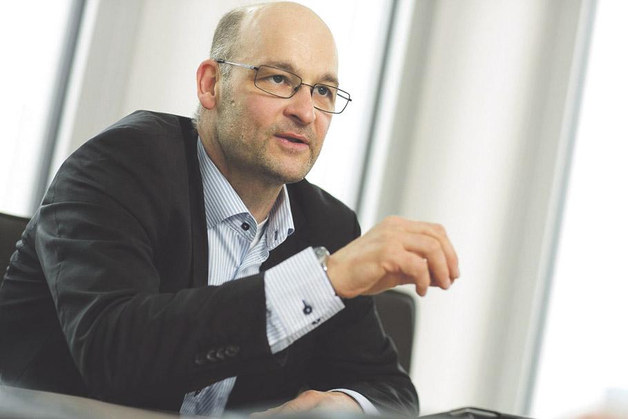 Ein Foto von Dr. Olaf Zeitnitz, Geschäftsführer von VisualVest